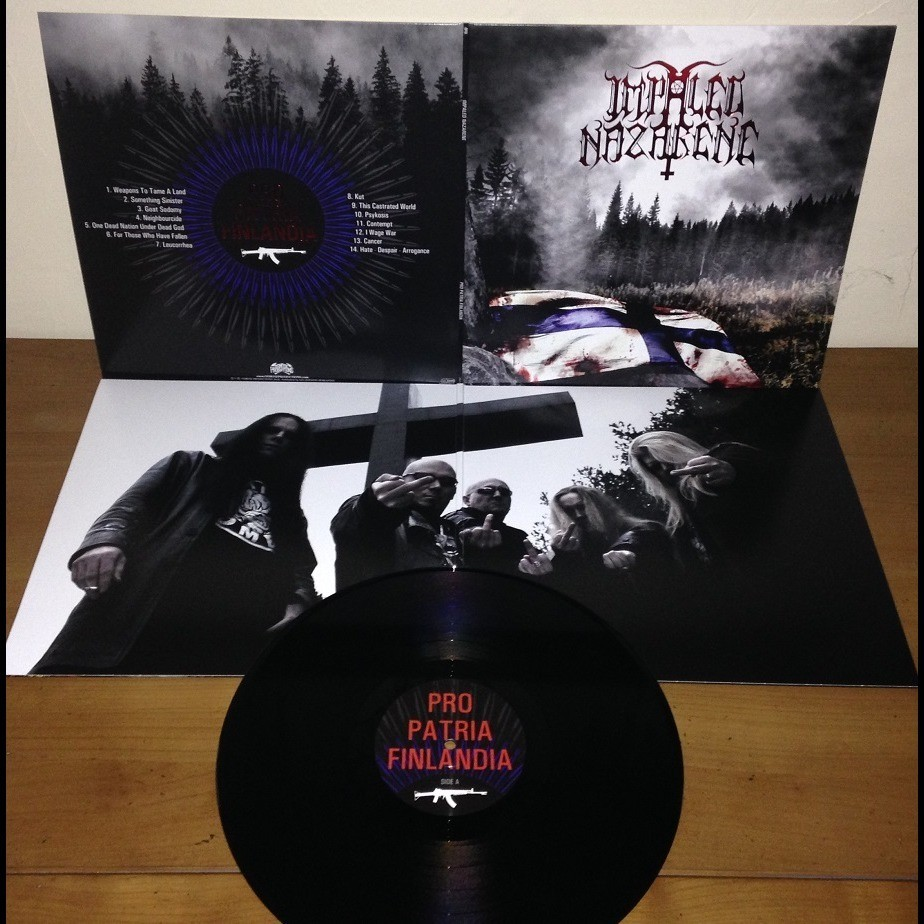 IMPALED NAZARENE Pro Patria Finlandia. Black Vinyl