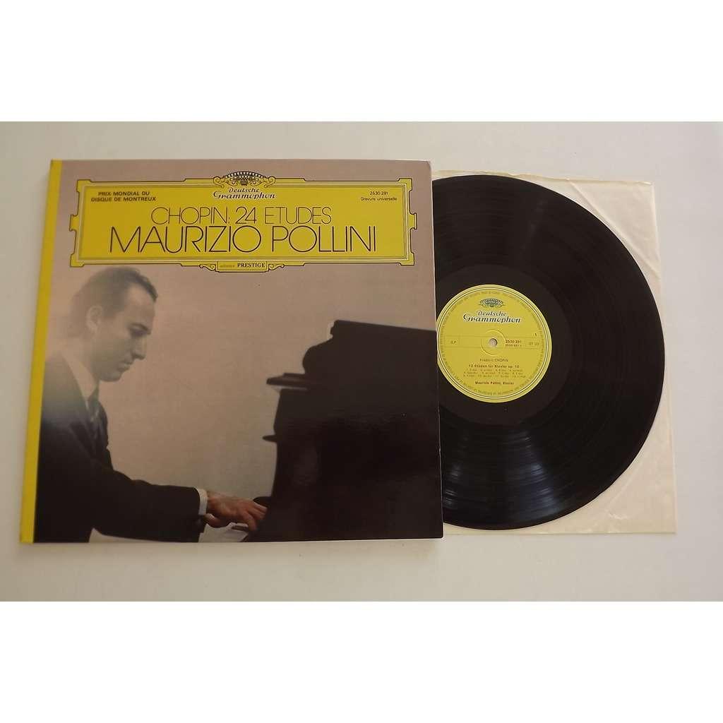CHOPIN MAURIZIO POLLINI 24 Études, Op. 10 Et Op. 25