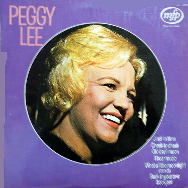 peggy lee Just in time
