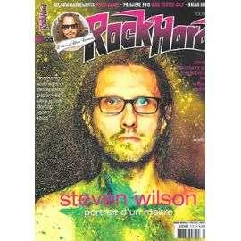 steven wilson magazine rockhard numéro 177