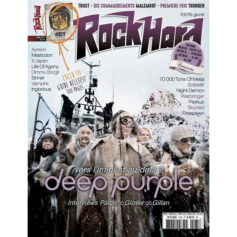 deep purple magazine rockhard numéro 175