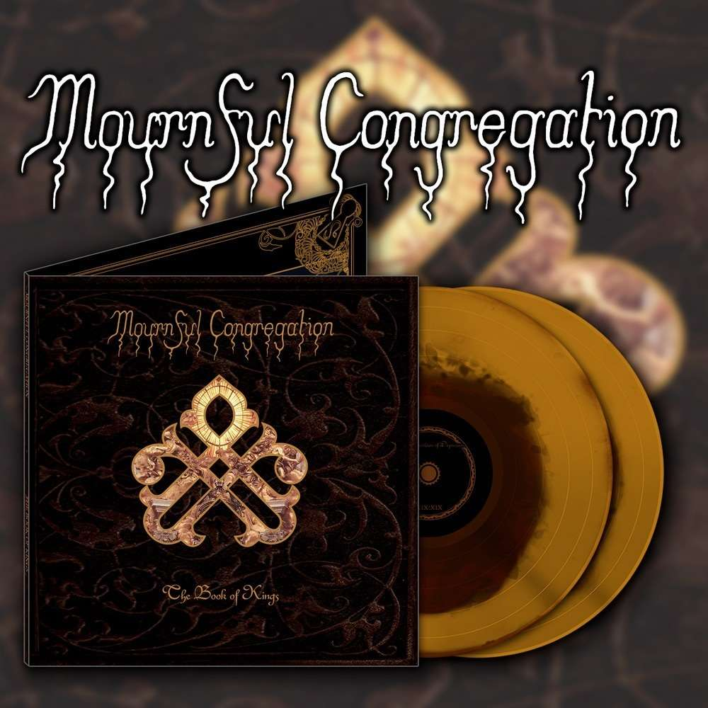 MOURNFUL CONGREGATION The Book of Kings. Gold & Brown Vinyl