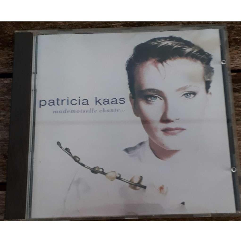 patricia kaas mademoiselle chante