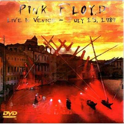 PINK FLOYD (David Gilmour, Roger Waters) Live in Venice Italy 15 July 1989 2CD+DVD digisleeve