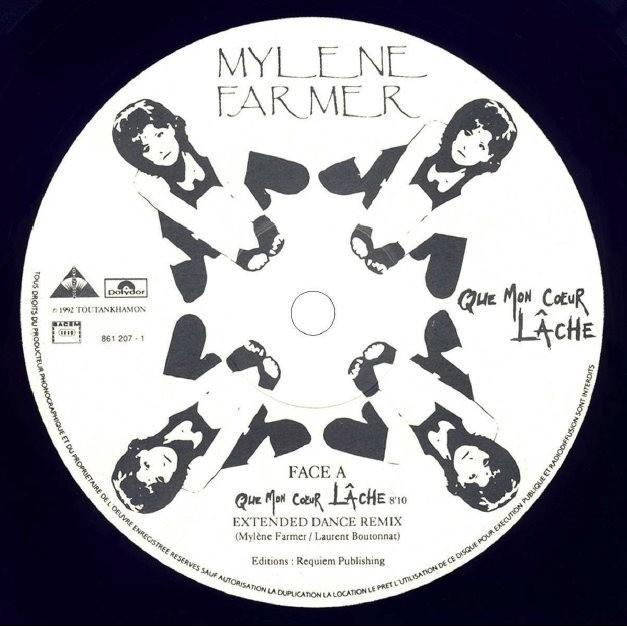 mylène farmer Que Mon Cœur Lâche