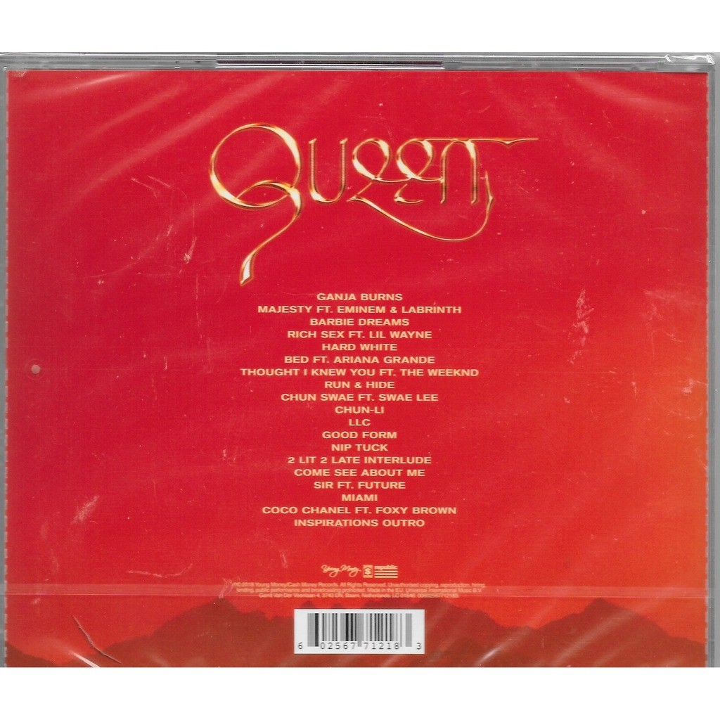 Queen by Nicki Minaj, CD with louviers