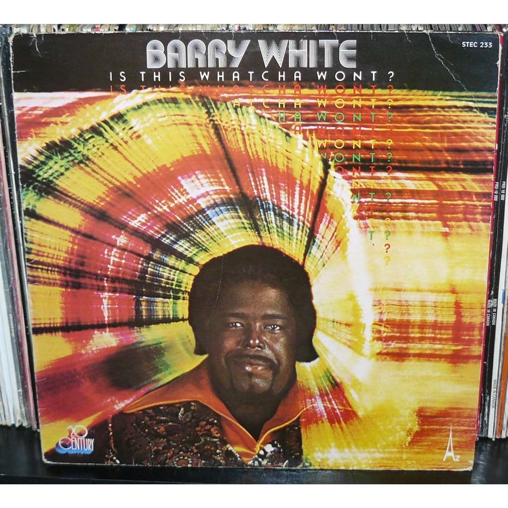 barry white is this watcha wont