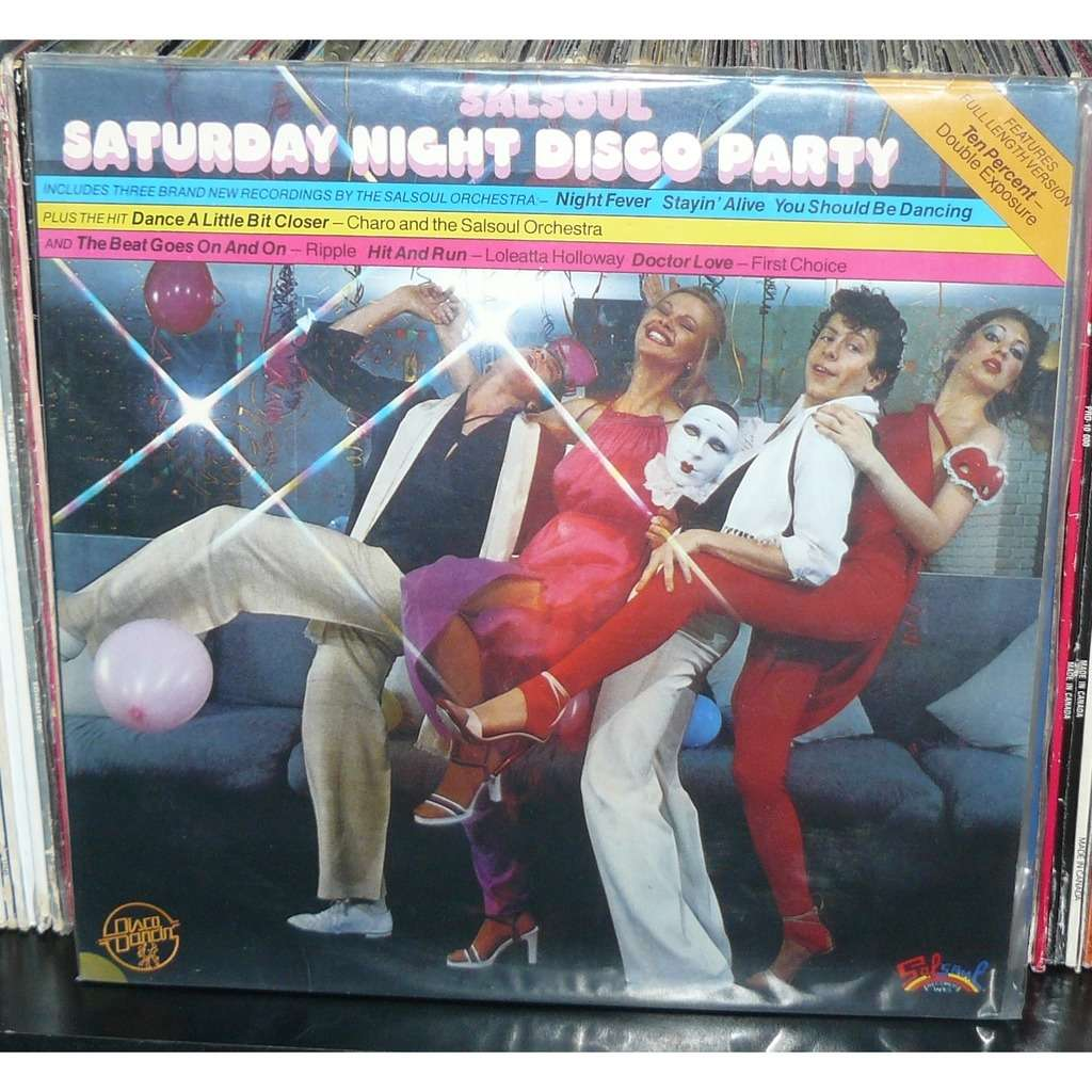 saturday night disco party salsoul compil