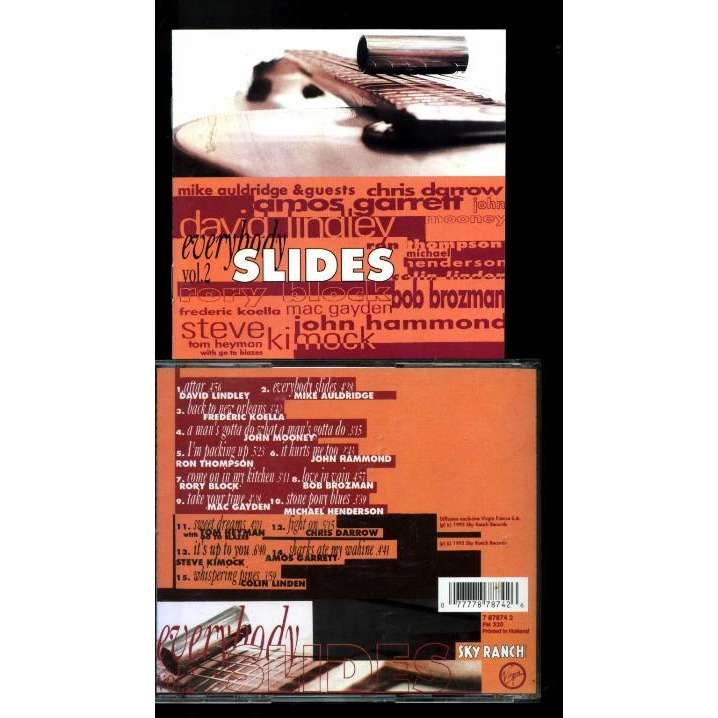 David Lindley,Mike Auldridge,Rory Block, u.a Everybody Slides Vol. 2