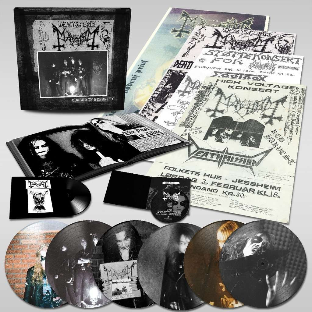 MAYHEM Cursed in Eternity. Box Set