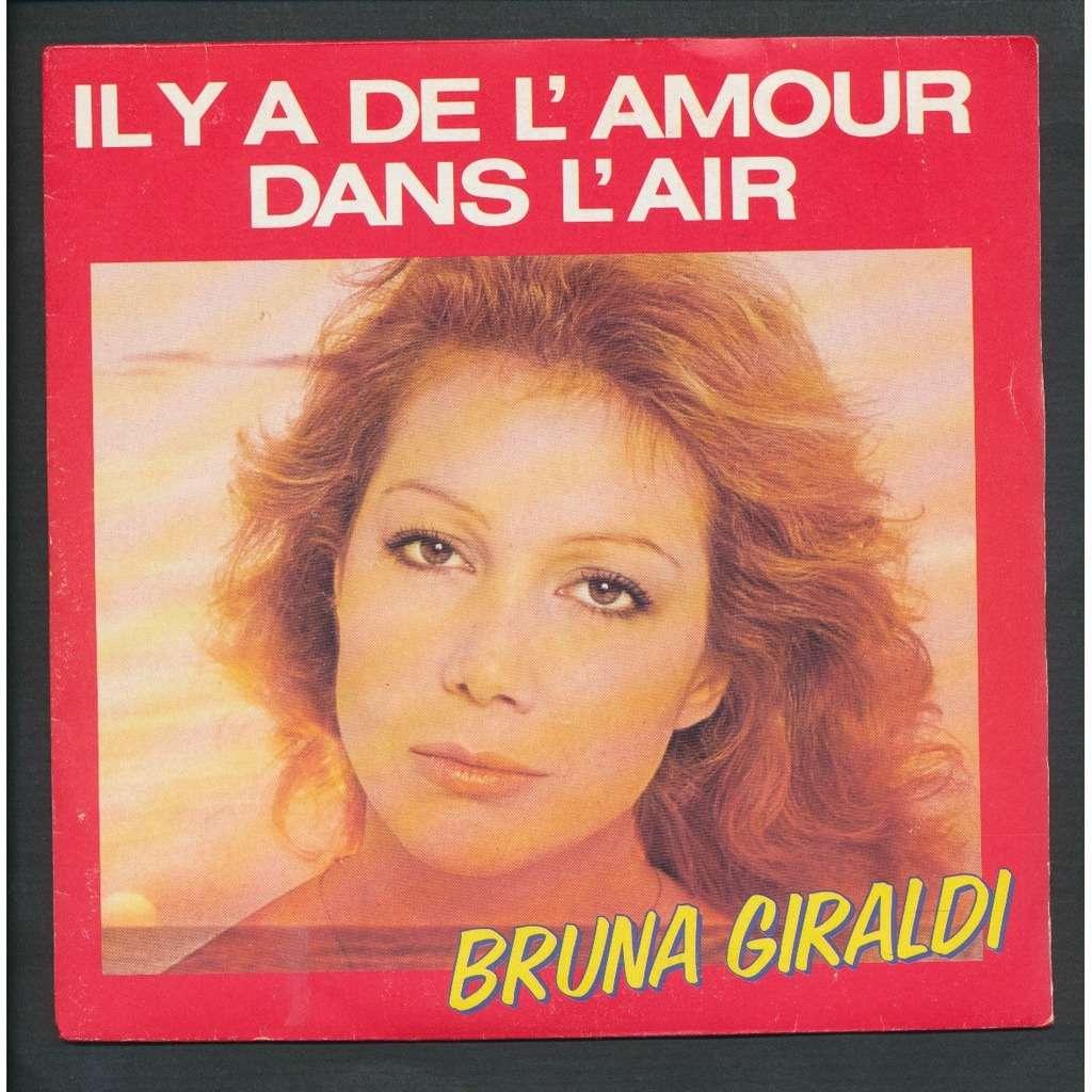 BRUNA GIRALDI - ( CLAUDE MICHEL SCHONBERG ) il y a de l'amour dans l'air - l'erreur