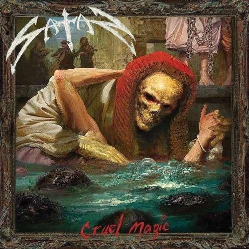 SATAN Cruel Magic. Black Vinyl