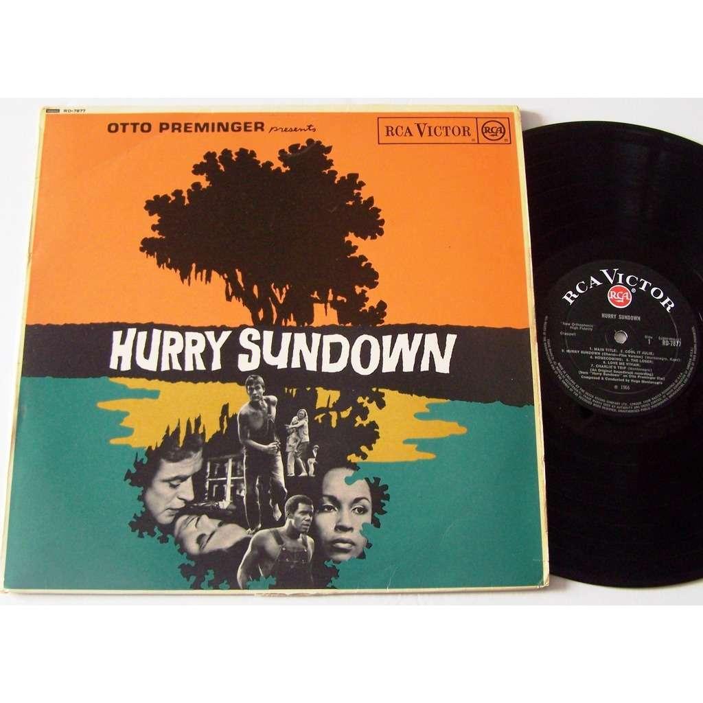 otto preminger hurry sundown