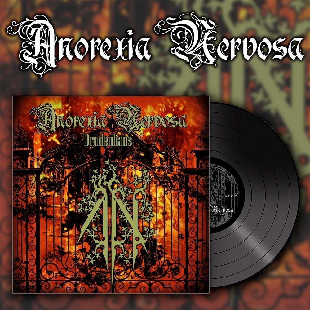 ANOREXIA NERVOSA Drudenhaus. Black Vinyl