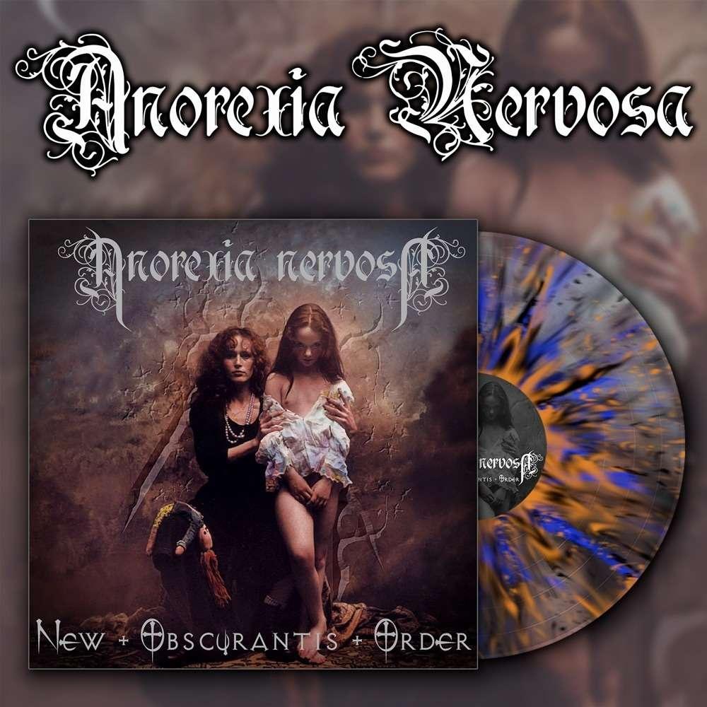 ANOREXIA NERVOSA New Obscurantis Order. Splatter Vinyl