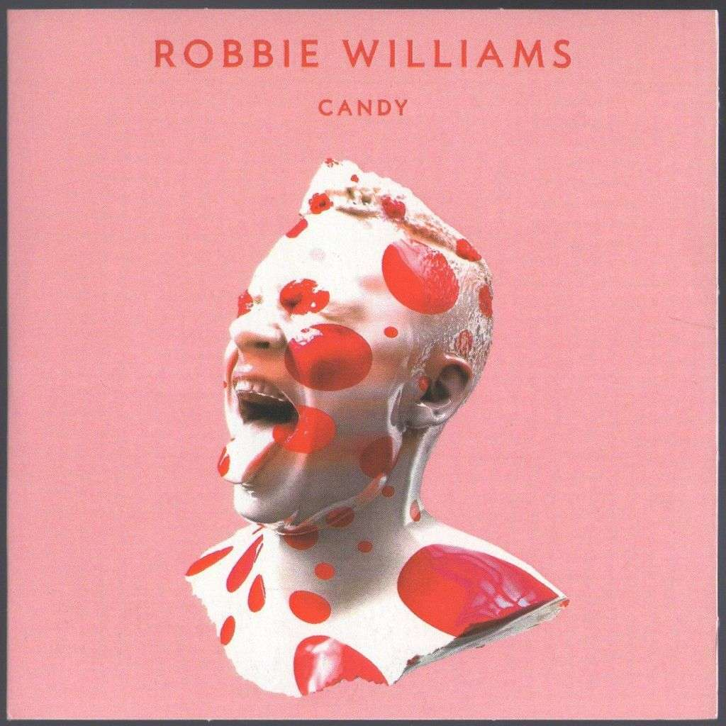 Robbie Williams PROMO Cd FRANCE 1 Titre Candy