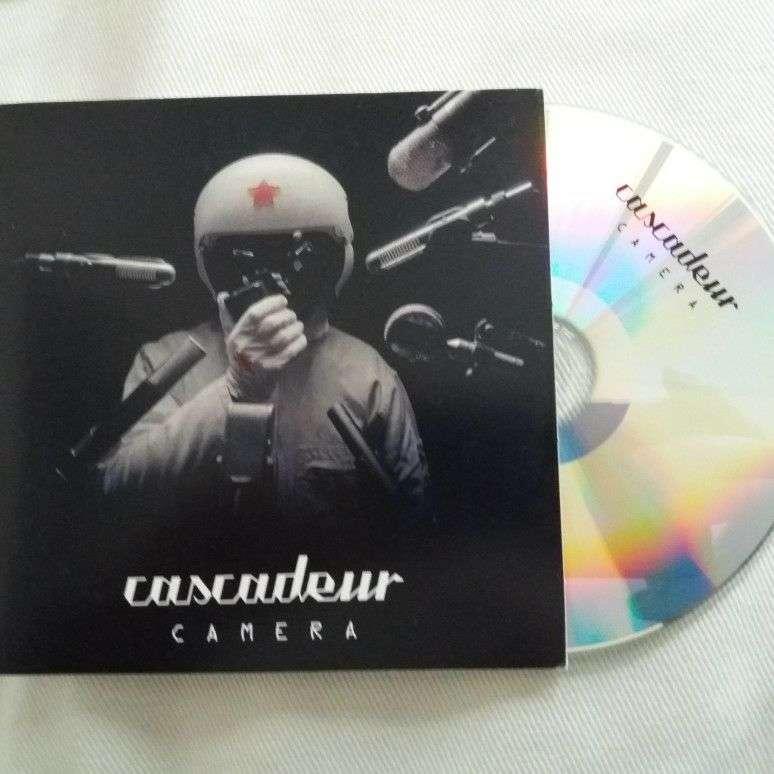 cascadeur promo Cd Album Camera France