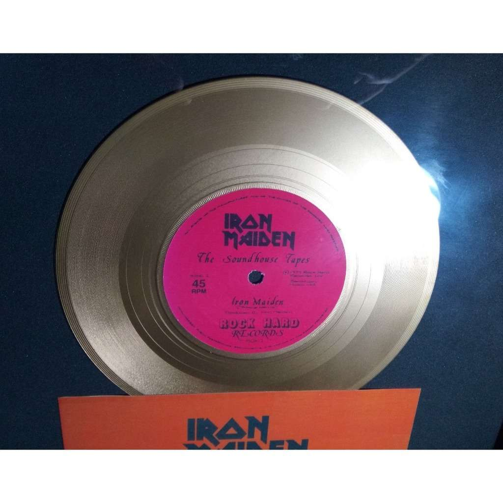 IRON MAIDEN The Soundhouse Tapes - golden