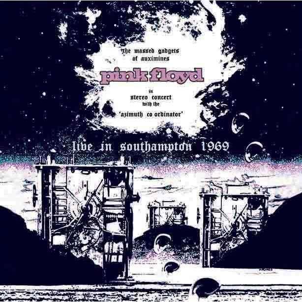 Pink Floyd Live In Southampton 1969 (lp) Ltd Edit Gatefold Sleeve -E.U
