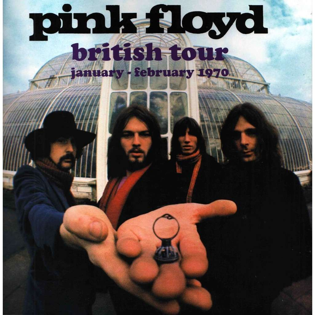 Pink Floyd British Tour (January - February 1970) (lp) Ltd Edit Gatefold Sleeve -E.U