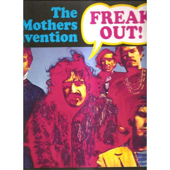 frank zappa & the mothers of invention freak out