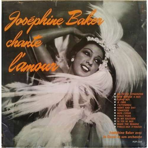 Joséphine BAKER Joséphine Baker chante l'amour (original French press - early 1950s - strong cardboard cover)