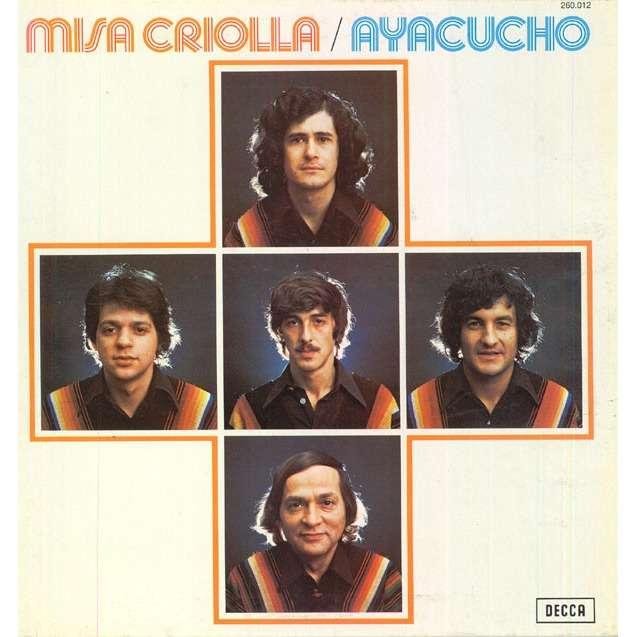 AYACUCHO Misa criolla (original French press - 1977 - gatefold sleeve)