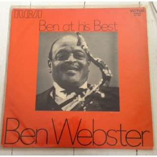 Ben Webster Ben At His Best