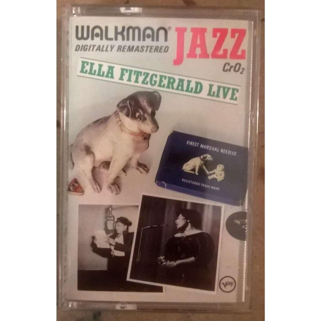 Ella Fitzgerald Ella Fitzgerald Live