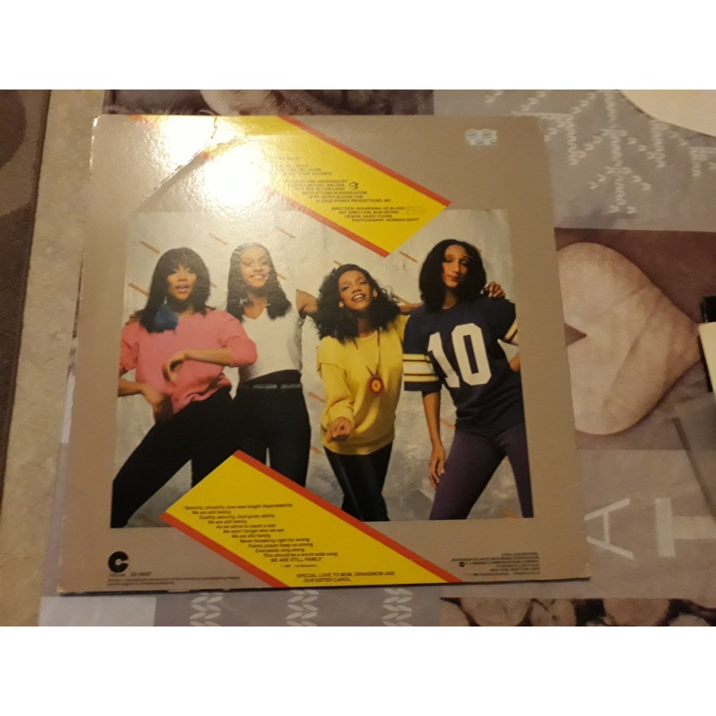 Sister Sledge - All American Girls (LP, Album, SP) Sister Sledge - All American Girls (LP, Album, SP)