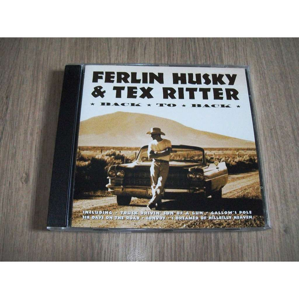 FERLIN HUSKY & TEX RITTER BACK TO BACK
