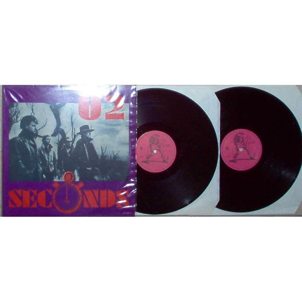 u2 Seconds (Red Rocks Denver 05 06 1983) (Pink lbls)