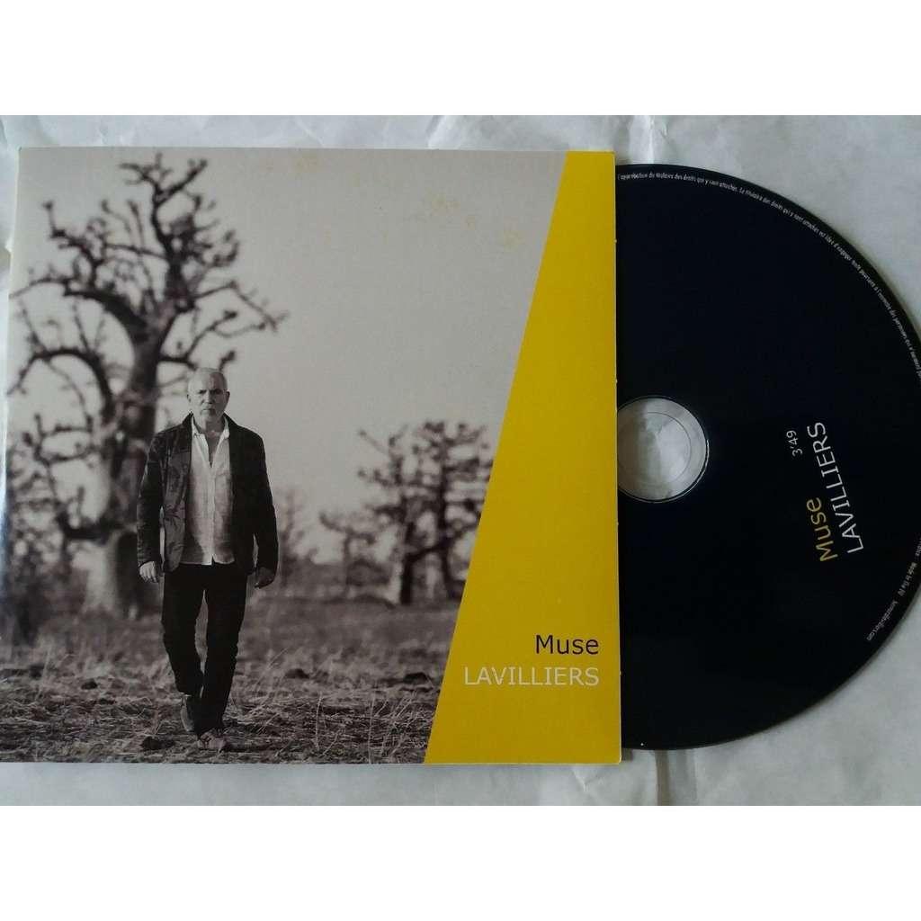 Bernard Lavilliers promo Cd 1 Titre Muse