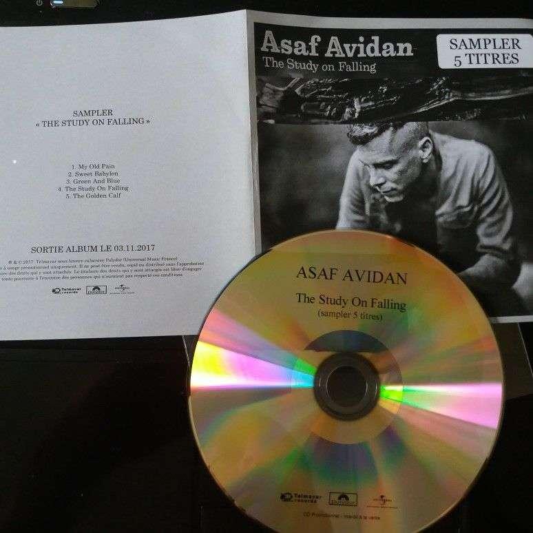 Asaf Avidan promo Cd 5 Titres The Study On Falling