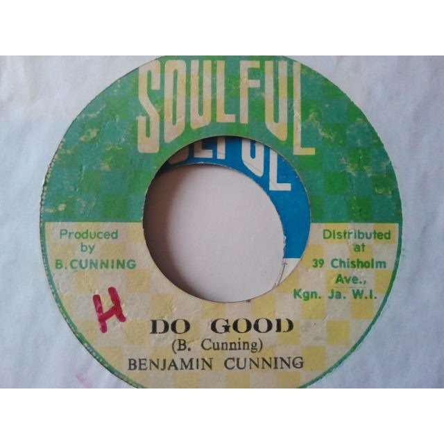 benjamin cunning DO GOOD / VERSION ORIG.