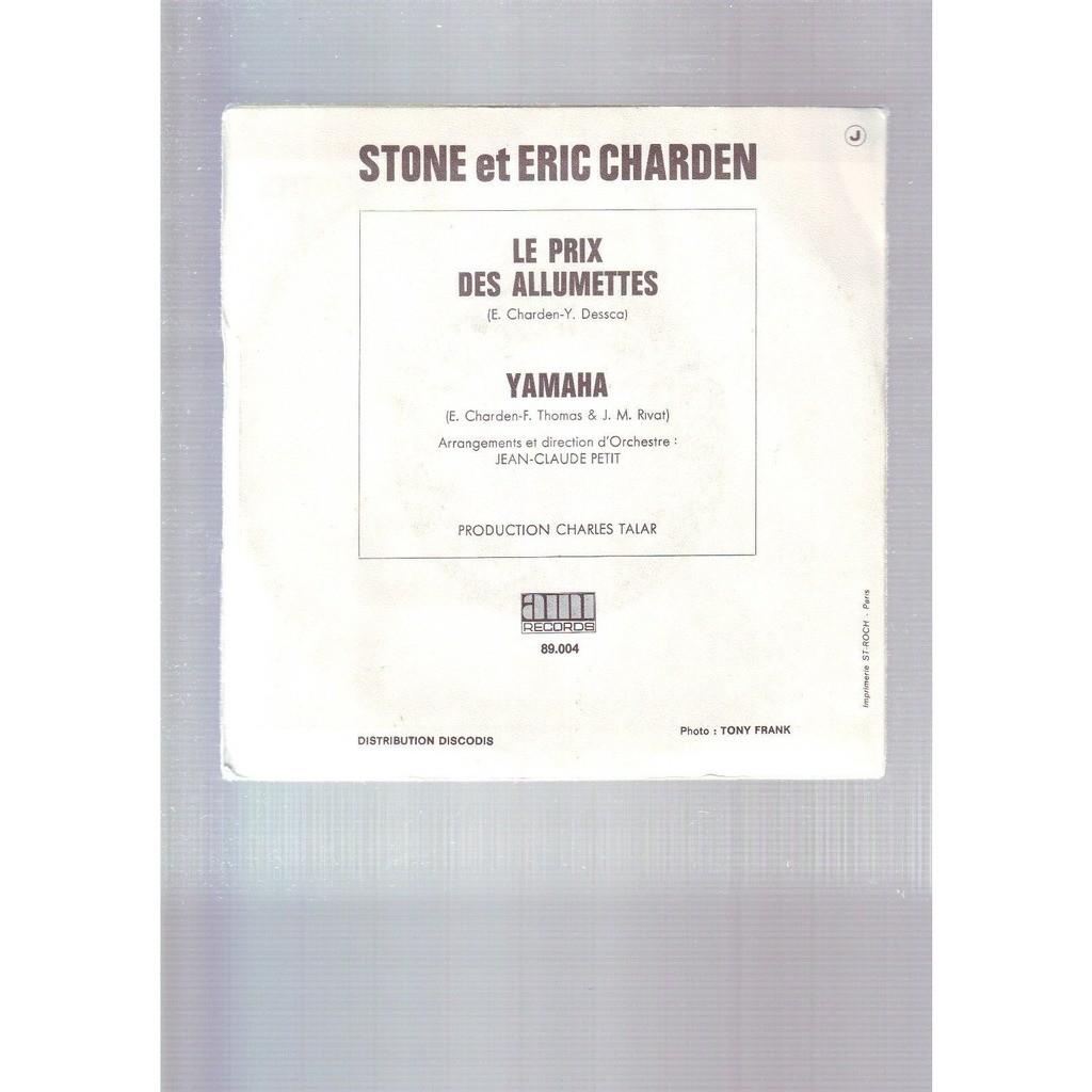stone et charden le prix des allumettes - yamaha