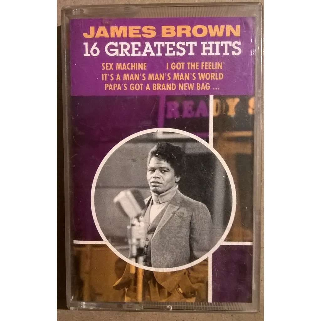 James Brown 16 Greatest Hits