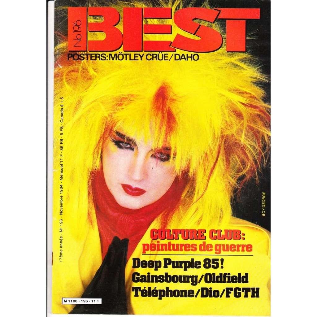 Best magazine N° 196-novembre 1984