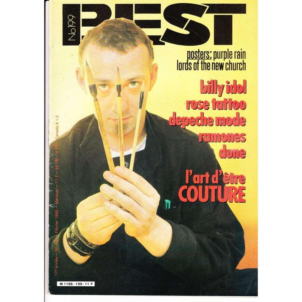 Best magazine N° 199-février 1985