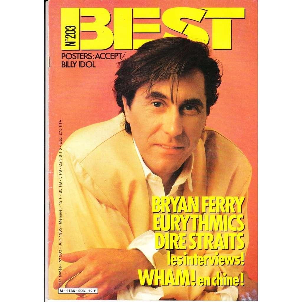 Best magazine N° 203-juin 1985