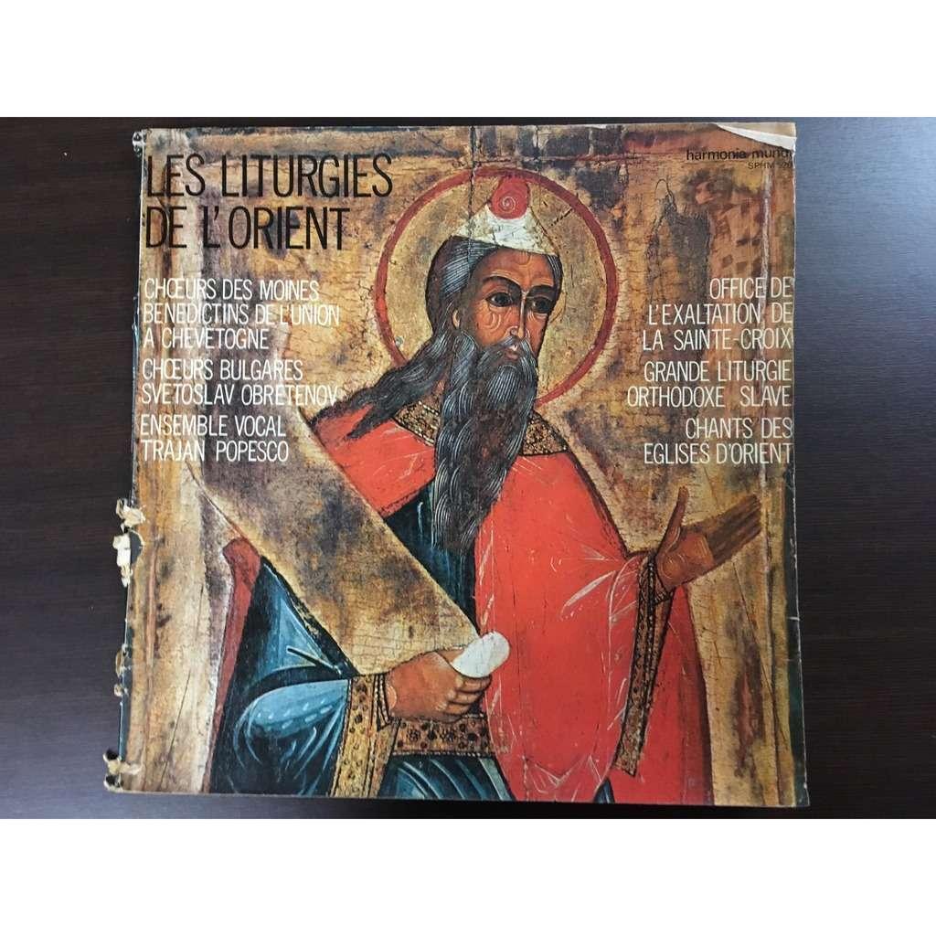 chorale et chœur les liturgies de l'orient