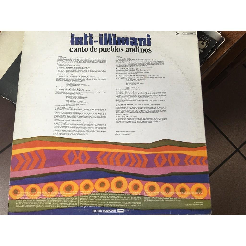 inti-illimani canto de pueblos andinos