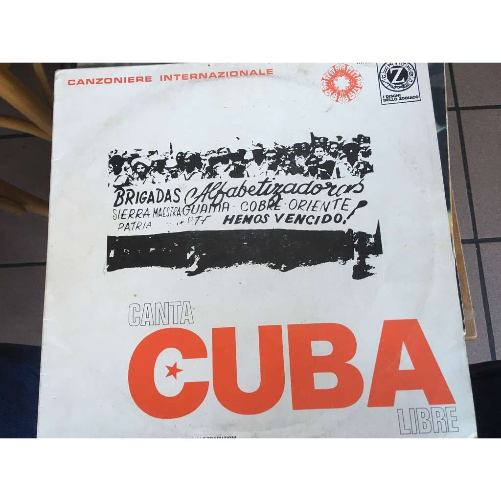 divers artistes - various artist canta cuba libre canzonieree