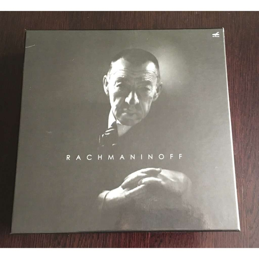 Rachmaninoff Collection Variuos Artists Box 33 CDs & 1 LP Melodia