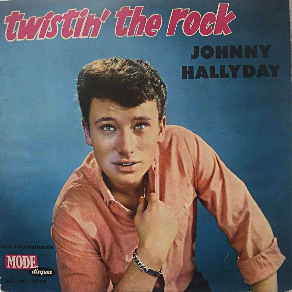 Johnny Hallyday Twistin' the rock