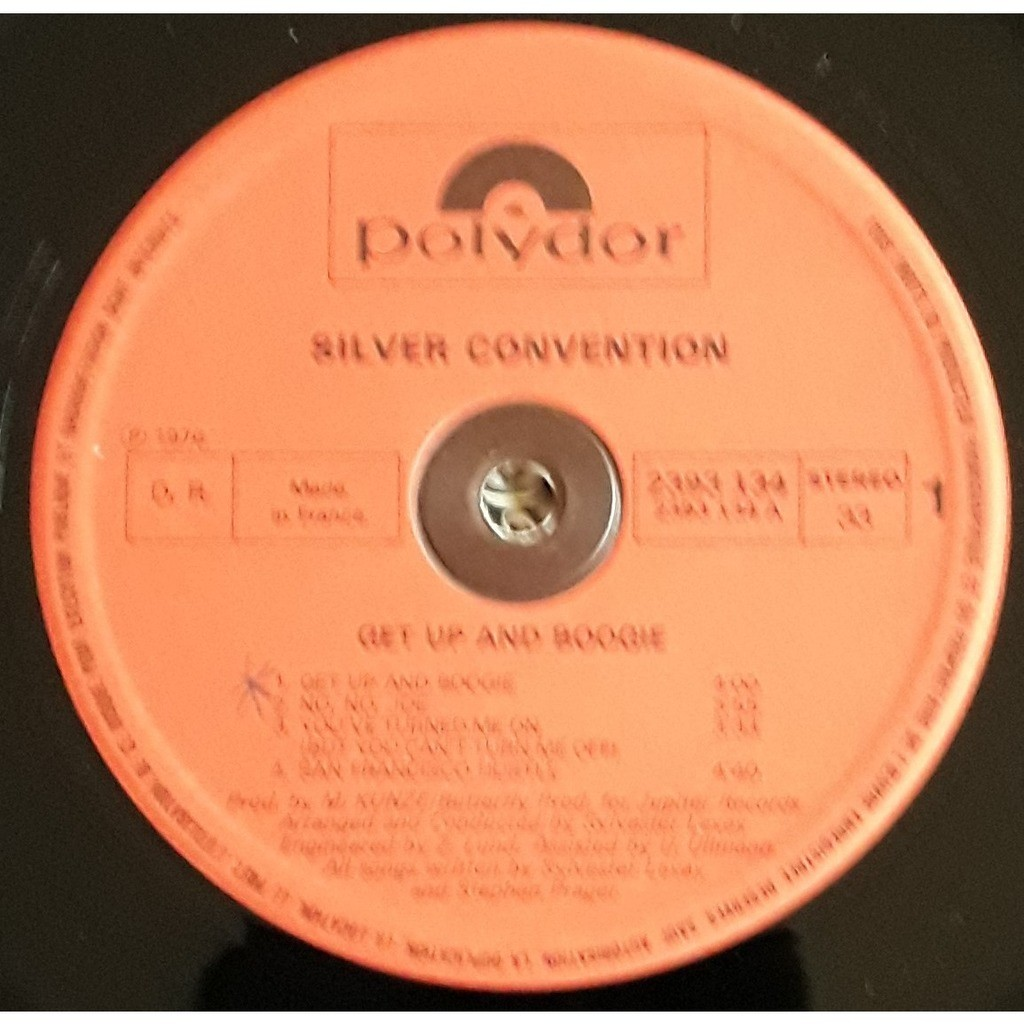 Silver Convention Get Up And Boogie