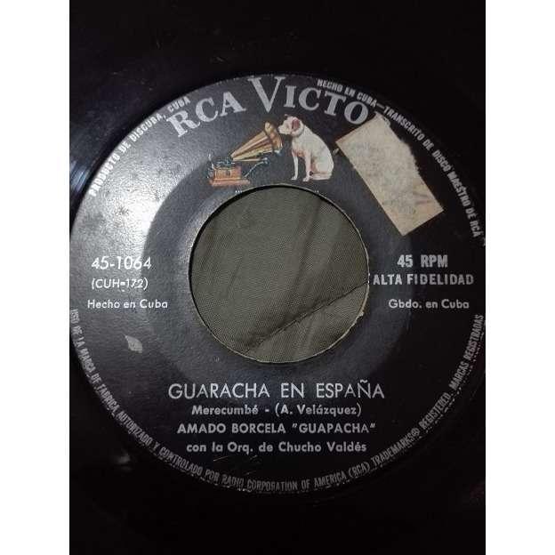 Amado Borcela (Guapacha) con Bebo Valdes y su trio Guaracha en España(merecumbe)/Una cierta sonrisa(fox)