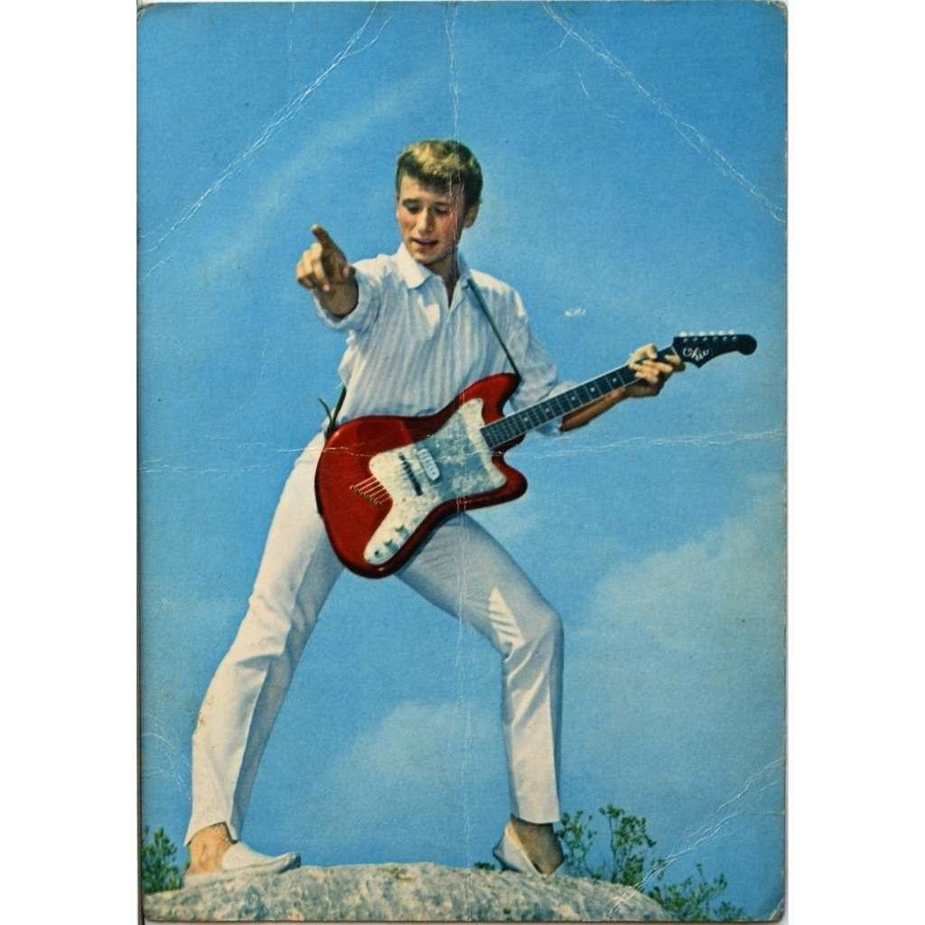 carte postale johnny hallyday Carte postale johnny hallyday by Johnny Hallyday, Postal Card with