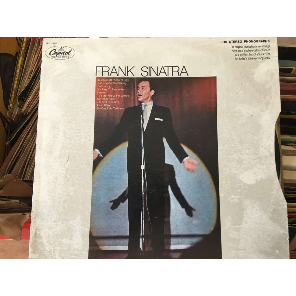 frank sinatra just one of those things