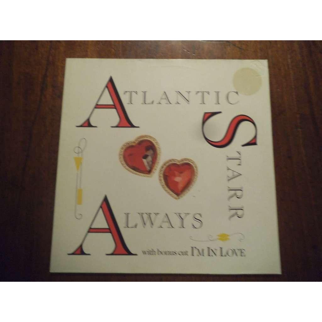 atlantic starr Always / Always ( instrumental ) / I'm in love